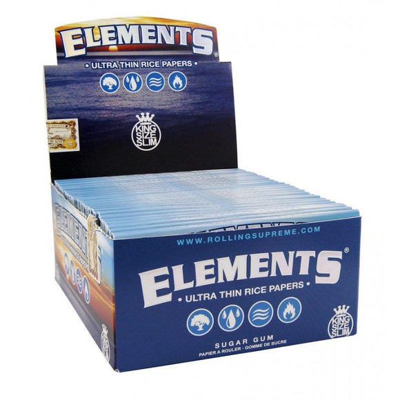 Elements King Size Slim 50 Ct