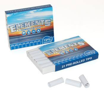 Elements Pre-Rolled Tips / 20ct