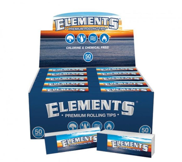 Elements Premium Rolling Tips - 50 Ct