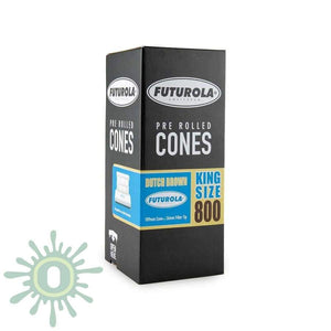 Futurola Cones King Size Dutch Brown - 800Ct Rolling Papers