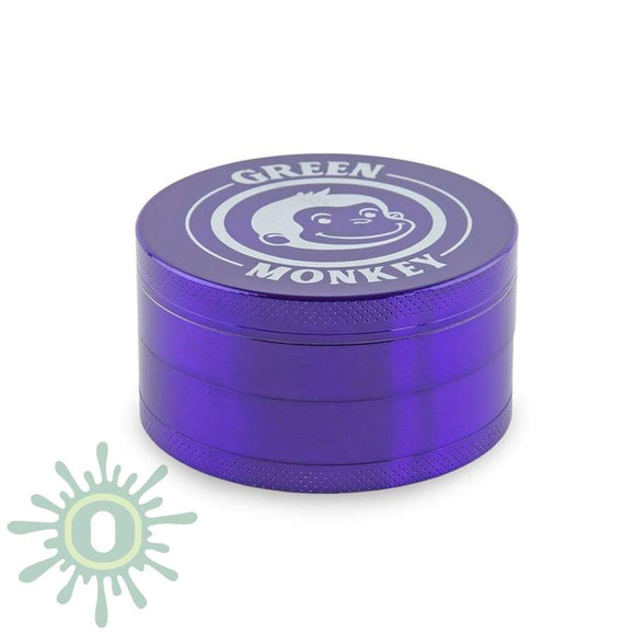 Green Monkey Grinder - Capuchin Purple 75Mm Grinders