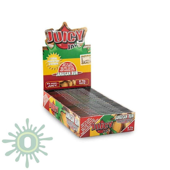 Juicy Jays Jamaican Rum Papers 1 1/4 - 24Ct Rolling
