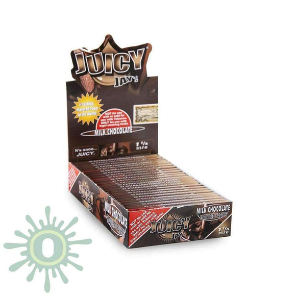 Juicy Jays Milk Chocolate Papers 1 1/4 - 24Ct Rolling