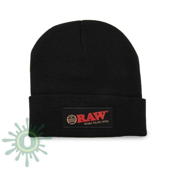 Raw Beanie - Black Hats