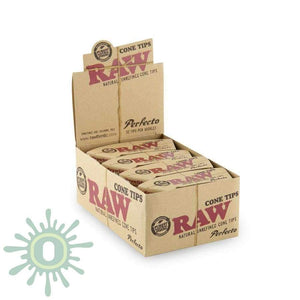 Raw Cone Tips - Perfecto 20Ct Rolling Papers