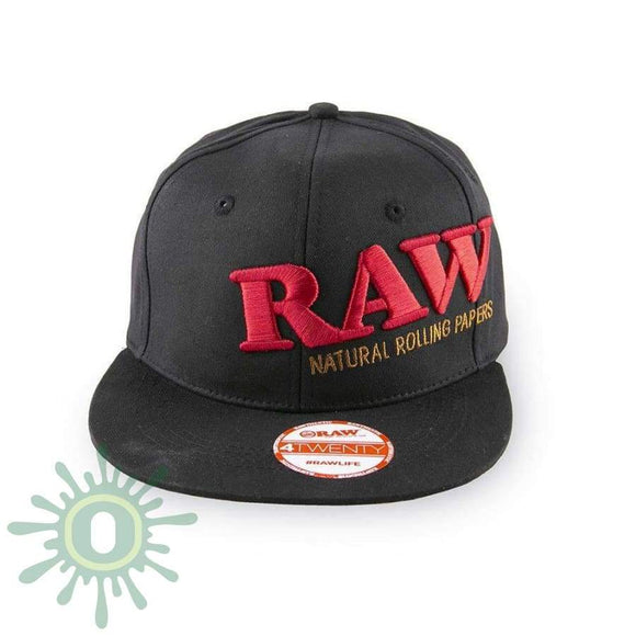 Raw Flex Fit Hat - Black L/xl Hats