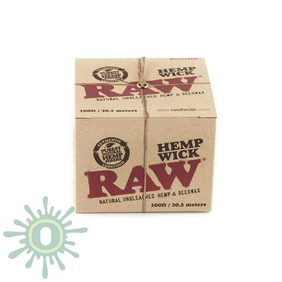 Raw Hempwick Ball - 100Ft Smoke Accessories