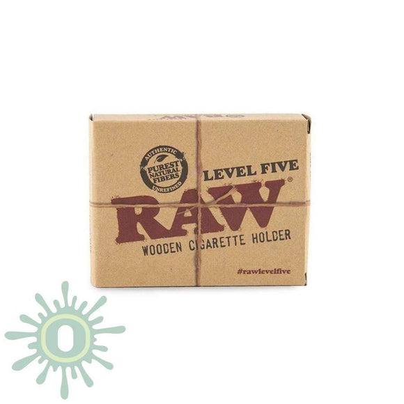 Raw Level Five Wooden Cigarette Holder Smoke Accessories