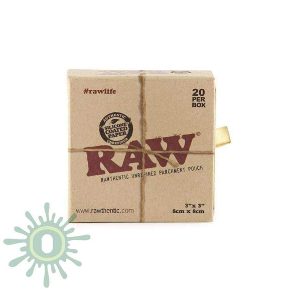 Raw Parchment Pouch 3 X - 20Ct Collective Supplies