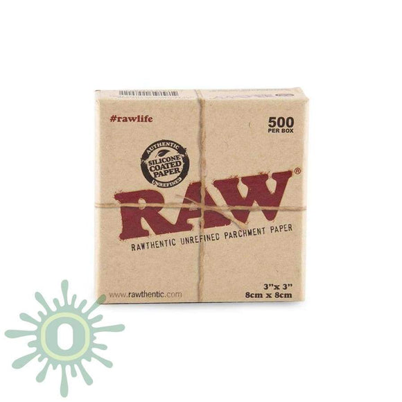 Raw Parchment Squares - 3 X 500Ct Collective Supplies