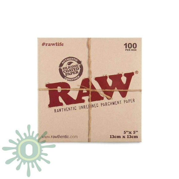 Raw Parchment Squares - 5 X 100Ct Collective Supplies