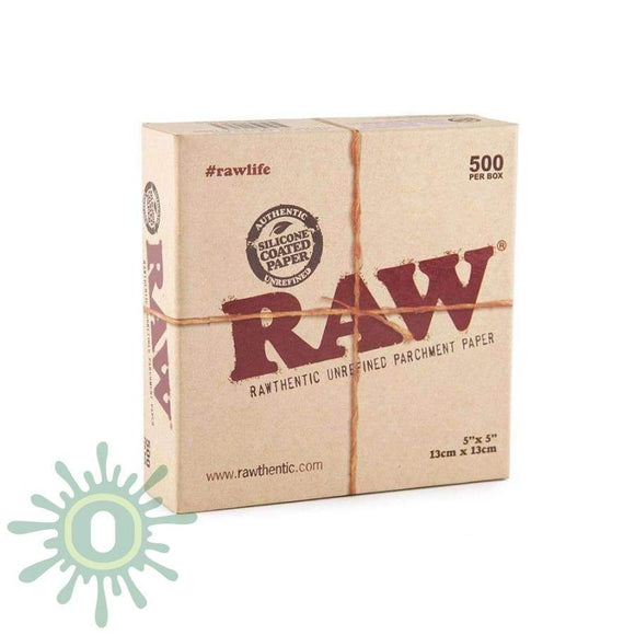 Raw Parchment Squares - 5 X 500Ct Collective Supplies