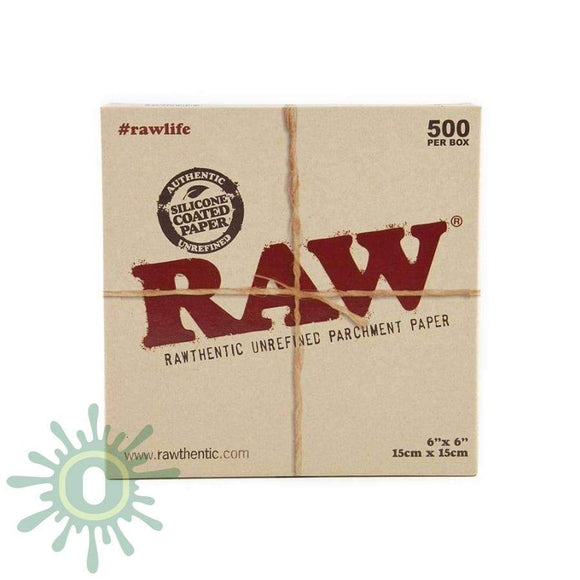 Raw Parchment Squares - 6 X 500Ct Collective Supplies