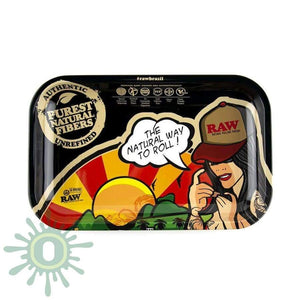 Raw Rolling Tray - Brazil Small Trays