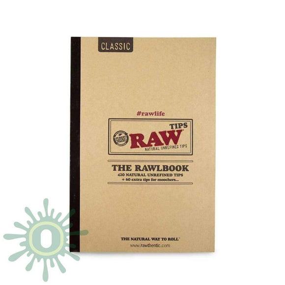 Raw Tips The Rawlbook Smoke Accessories