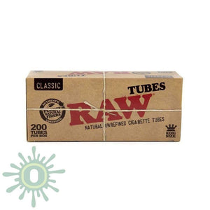 Raw Tubes King Size - 200Ct Blunt Wraps
