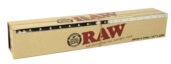 RAW Parchment Paper 300mm x 10m - 6ct Display