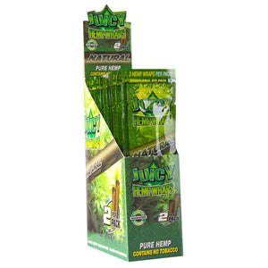 Juicy Jays Hemp Wraps Natural Flavor 25 CT