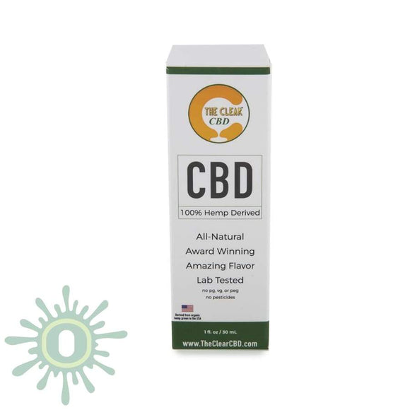 The Clear Cbd Dropper - 750Mg 1Oz Lemon Lime