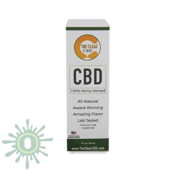 The Clear Cbd Tincture - 750Mg 1Oz Strawberry