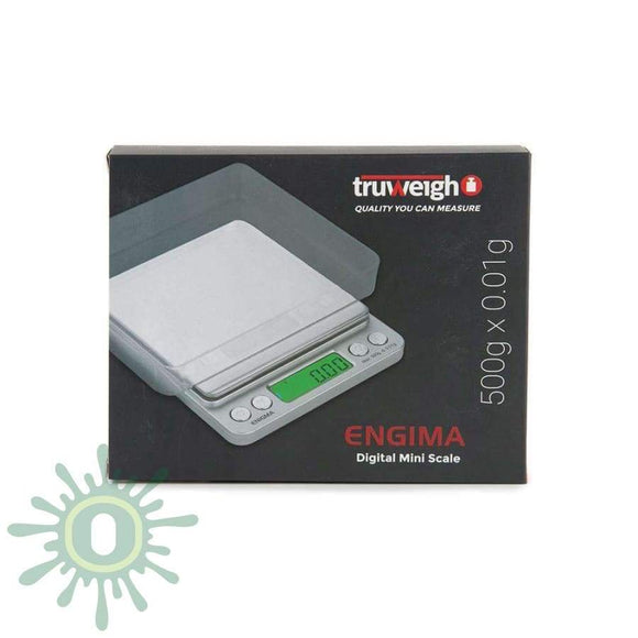 Truweigh Engima Scale - 500G X 0.01G Silver Scales