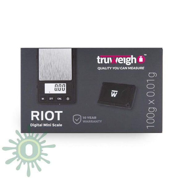 Truweigh Riot Scale - 100G X 0.01G Black Scales