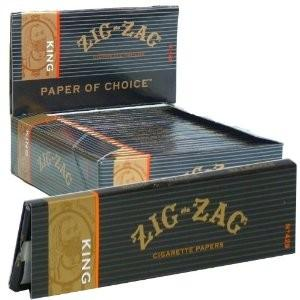 Zig-Zag Papers King Size / 24Ct.