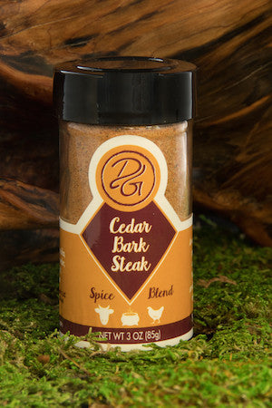 Cedar Bark Steak