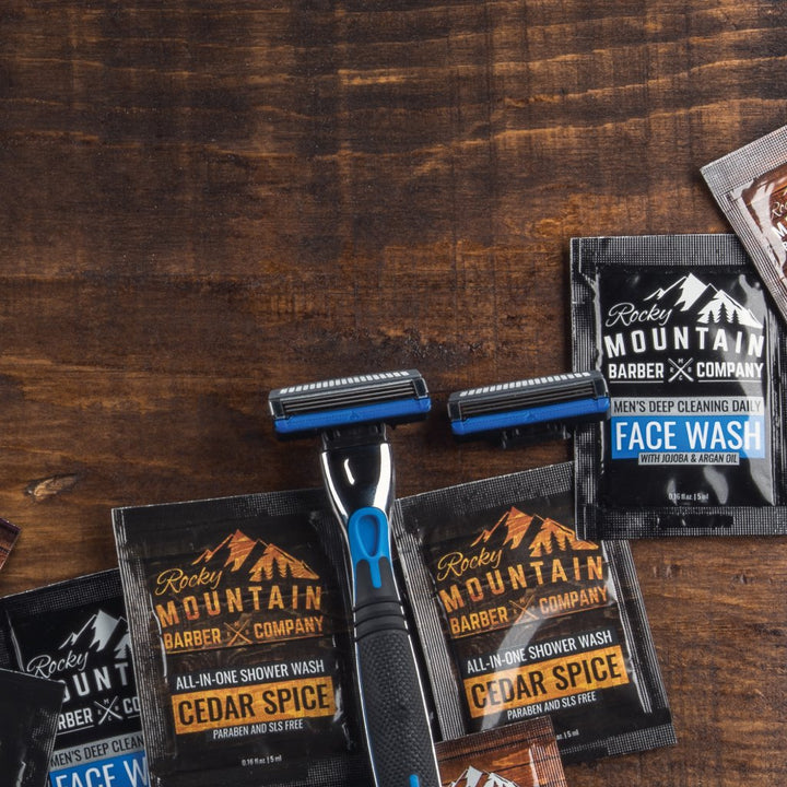 Buy Any Item, Get Two Free Razor Blades