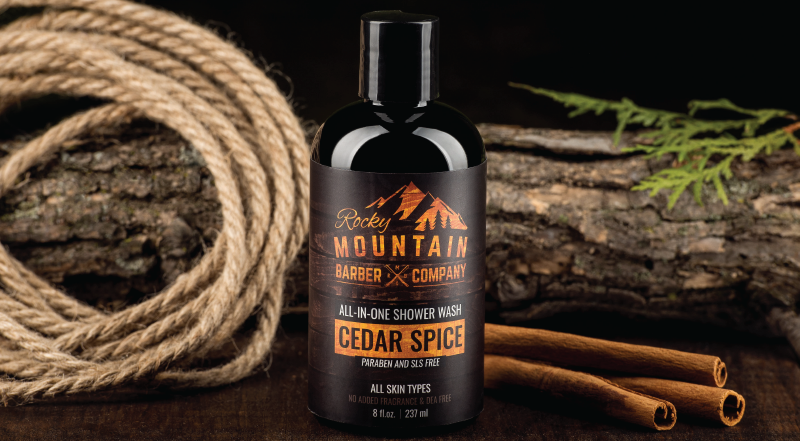 Cedar Spice All In One Shower Wash