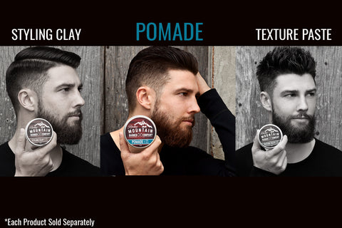 A Mans Guide To Understanding Hairstyling Products Rocky Mountain