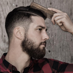 Should you comb your hair in public rocky mountain barber man combing hair urmus Choice Image