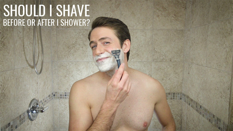 Should I Shave Before Or After I Shower Rocky Mountain Barber Company