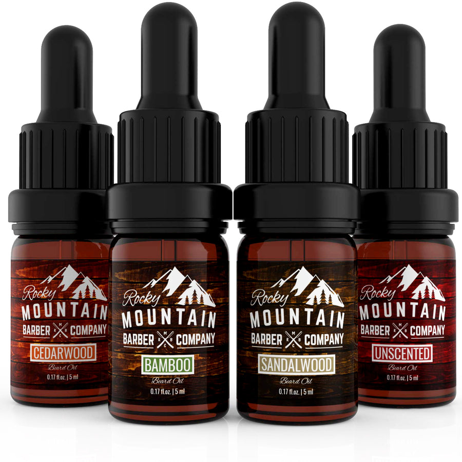 Beard Oil Variety Pack | 0.17 fl.oz. Each