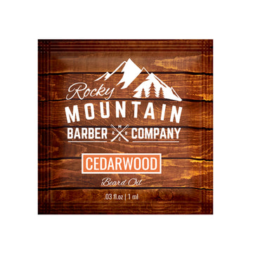 Cedarwood Beard Oil (Sample Size)