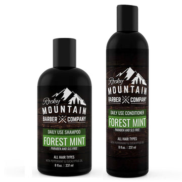 Forest Mint Shampoo & Conditioner