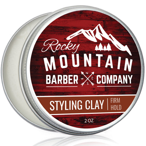 Hair Styling Clay for Men – Sculpting Cream for Shorter Firm Styles