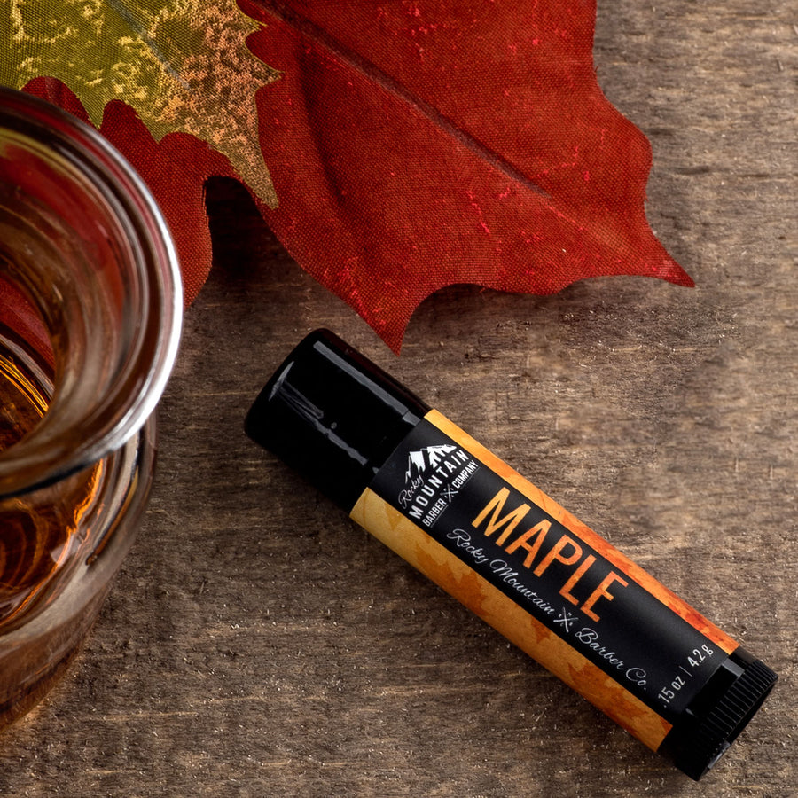 Maple Lip Balm With Natural Ingredients