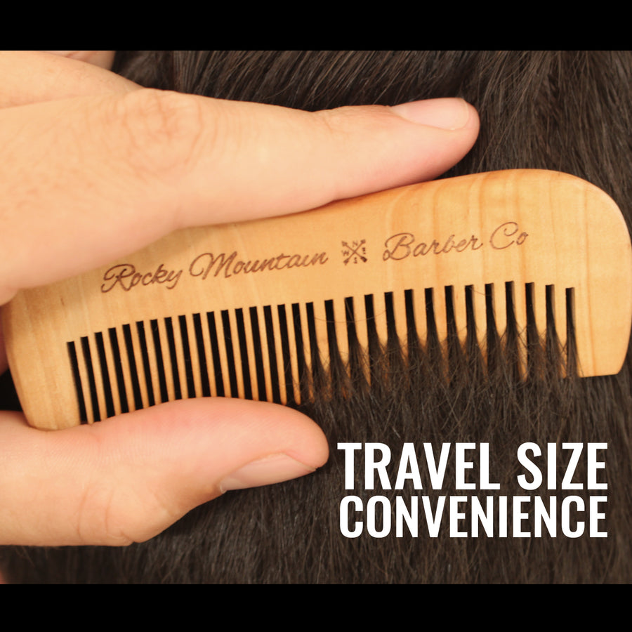 Travel & Mustache Comb