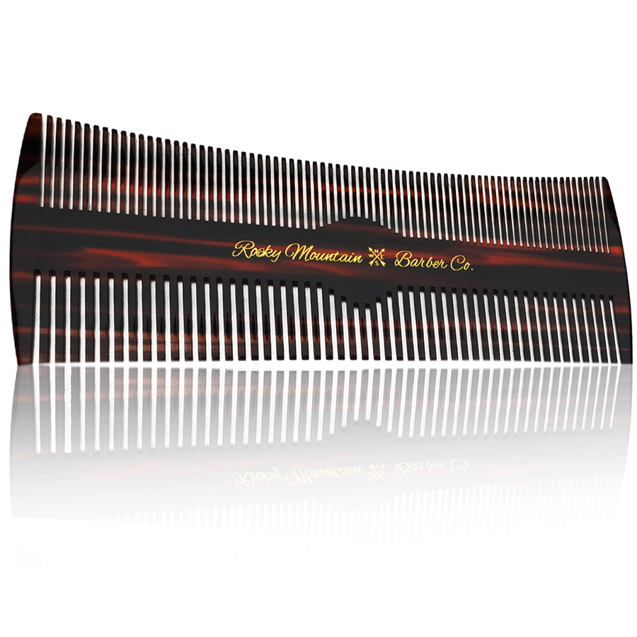 Hair Comb - Fine and Medium Tooth Comb for Hair - Warp Resistant
