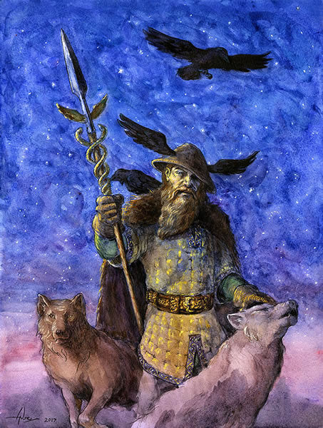 Odin As Mercury – Forrest Astrology