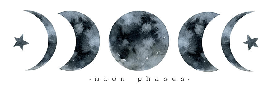 The Eight Lunar Phases