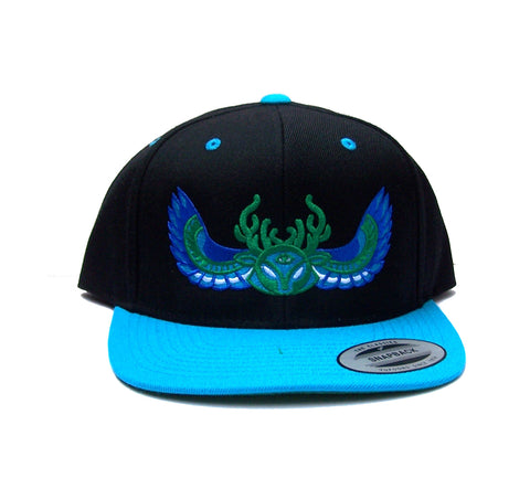 Chimera Crest - Embroidered Snap Back Hat
