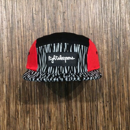 5 Panel - Red Tiger