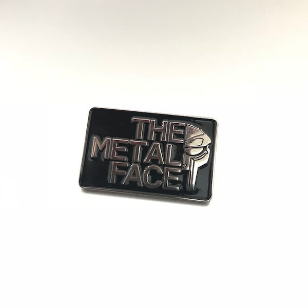 The Metal Face Pin