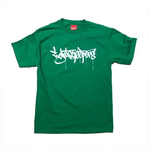 Drips Tee - Kelly Green