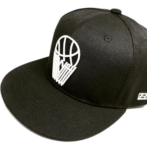 ALL NET Snap back - Black