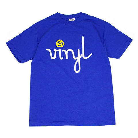 "In4mation x Lightsleepers ""VInyL 45"" T-Shirt / Royal"