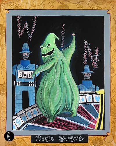 """Oogie Boogie"" by Tricia Buchanan-Benson inspired by The Night Before Christmas"