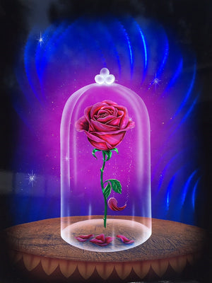 """The Enchanted Rose #5"" by Cris Woloszak inspired by Beauty and the Beast"